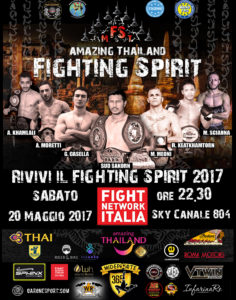 Evento Fight NEtwork FSMT17