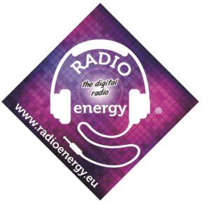 logo radio energy con sito web