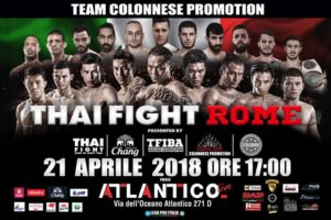 THAI FIGHT ORIZZONTALE